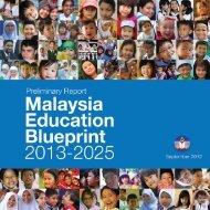 Malaysia Education Blueprint 2013 2025 Foreword 1 - Malaysian ...