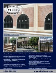 130432 Fence Mailer.indd - Elite Fence Products, Inc