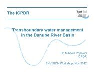 Transboundary water management in the Danube River Basin