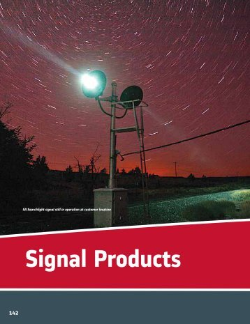 Signal Products - Alstom