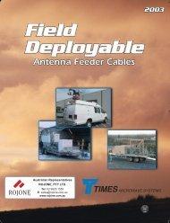Field Deployable - Rojone Pty Ltd