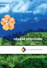 Hållbar utveckling - Edu.fi