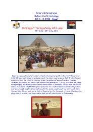 """Egypt Think Egypt """"TE2,Egyptology 2013 camp"""""""