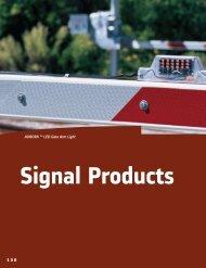 AURORA ™ LED Gate Arm Light Signal Products - Alstom
