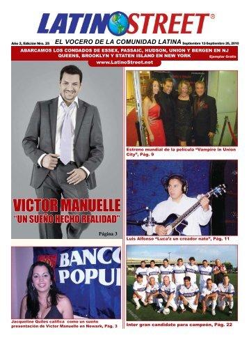 VICTOR MANUELLE - LatinoStreet.Net