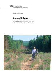 UV Syd Rapport 2003:8 - Riksantikvarieämbetet, avdelningen för ...