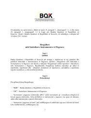 Rregullore mbi Statistikat e Instrumenteve të Pagesave - Banka ...
