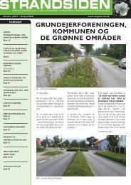 Strandsiden oktober 2007 - Solrød Strands Grundejerforening