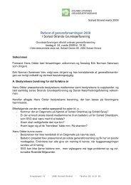 Referat - Solrød Strands Grundejerforening