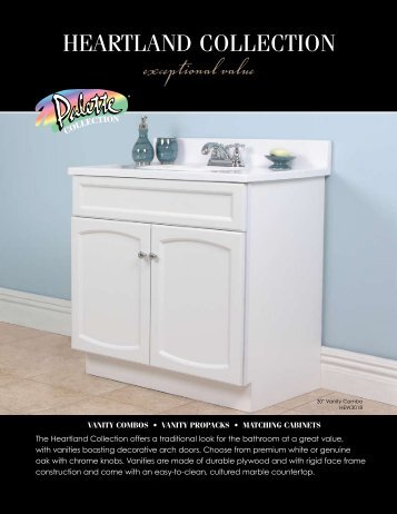 Heartland Collection Specifications - WOLF Home Products