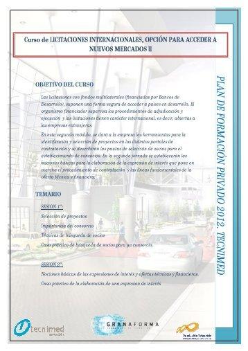 Licitacion publica internacional II - Tecnimed