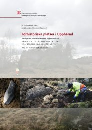 UV Väst Rapport 2008:7 - arkeologiuv.se