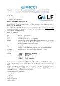 Corporate Golf Day 2013 - Malaysian International Chamber of ... - Page 2