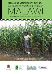 Unleashing agriculture's potential for improved nutrition and health ...