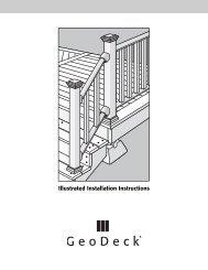 Illustrated Installation Instructions - Barker Lumber Co.