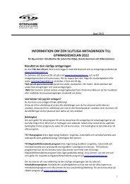 Information till eleverna sommaren 2012 - Bagarmossen Brotorps ...