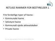 Indlæg - Danske Havne