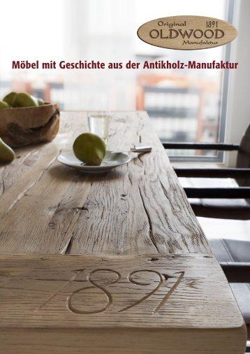Möbel mit Geschichte aus der Antikholz-Manufaktur