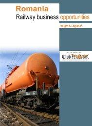 Romania - Railway business opportunities. Freight ... - Club Feroviar