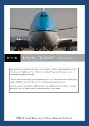 IFR TOUR 2012 – are you ready? - DutchFSX.nl