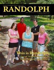 Standard PDF - Randolph College