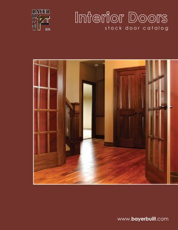 Interior Door Literature - Bayer Built