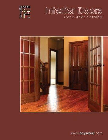 Interior Door Literature   Bayer Built