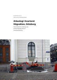 UV Rapport 2011:36. Arkeologisk förundersökning ... - arkeologiuv.se