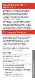 Warranty - Page 7