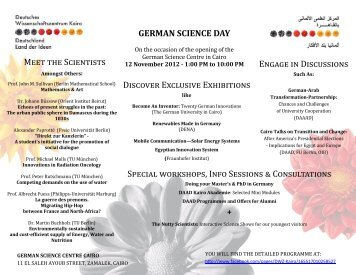 German Science Day - Freie Universität Berlin