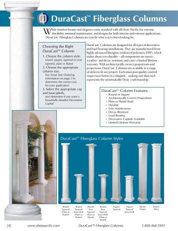 10 free magazines from dixiepacific com for 10 fiberglass columns