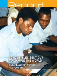 10,000 BiBles sent out to change the world page 7 - RECORD.net.au