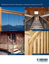 exterior wood railings - BW Creative Wood Industries Ltd