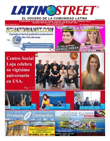 el vocero de la comunidad latina - LatinoStreet.Net