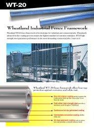 Wheatland Industrial Fence Framework - Hoover Fence