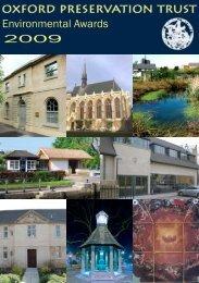 2009 Brochure (revised) - Oxford Preservation Trust