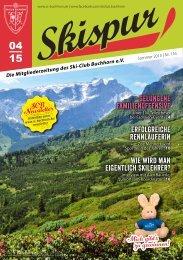 Skispur Sommer 2015 | Nr. 116