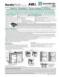 James Hardie HZ5 Panel - Cedar Siding Inc.