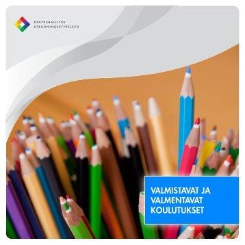 Valmistavat ja valmentavat koulutukset (2010) - Edu.fi