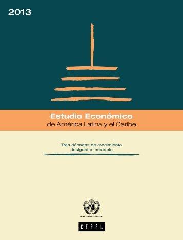 Estudio Económico de América Latina y el Caribe 2013