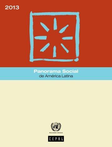 Panorama Social de América Latina 2013