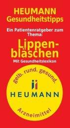 Lippen- bläschen - Heumann Pharma GmbH