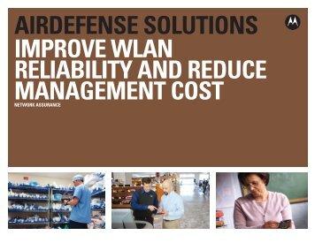 Motorola AirDefense Network Assurance Solution - Improve WLAN ...