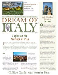 Sample Issue - Dream of Italy