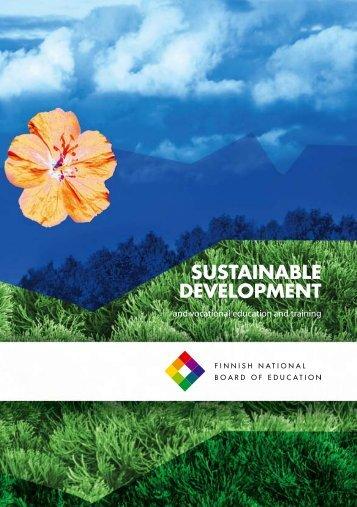 sustainable development - Edu.fi