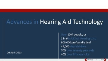 Charlene Coetzee, Hearing Aid Technology - St Anthony's Hospital