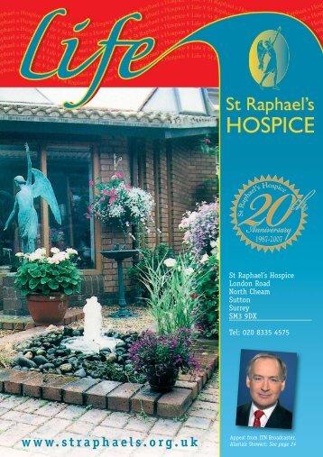 Winter 2007-08 Magazine PDF - St Raphael's Hospice