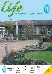Spring 2009 Magazine PDF - St Raphael's Hospice