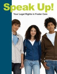 Your Legal Rights in Foster Care - Center for Children's Advocacy