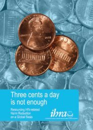 Three cents a day is not enough - International Harm Reduction ...
